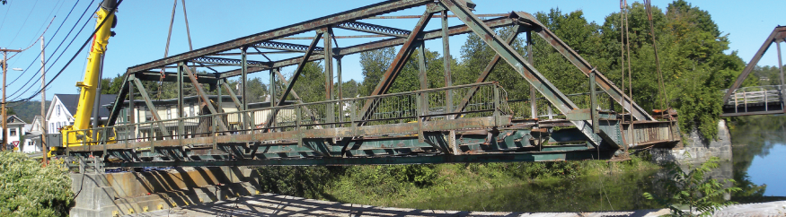 Bridge Street Bridge - Steel truss bridge replacement