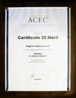 2014 American Council of Engineering Companies Certificate of Merit